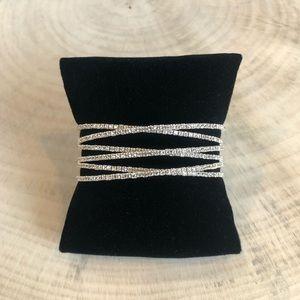 Jewelry - 6 Layer Crisscrossing Bracelet